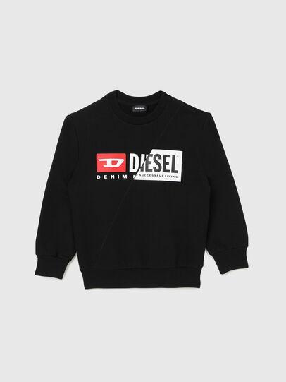 Diesel - SGIRKCUTY OVER, Negro - Sudaderas - Image 1
