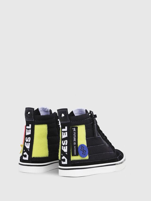 Diesel - D-VELOWS MID PATCH W, Negro - Sneakers - Image 3