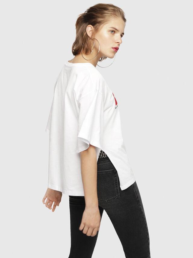 Diesel - T-JACKY-D, Blanco - Camisetas - Image 2