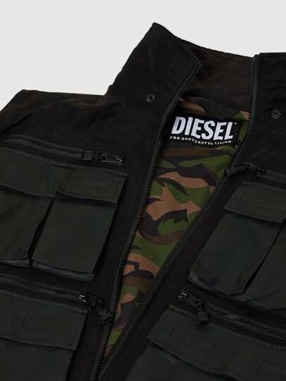 Diesel - J-AKKAD, Negro - Chaquetas - Image 7