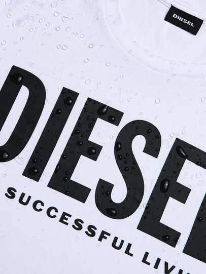 Diesel - T-DIEGO-LOGO, Blanco - Camisetas - Image 4