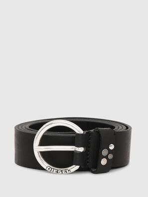B-WANNA, Negro - Cinturones