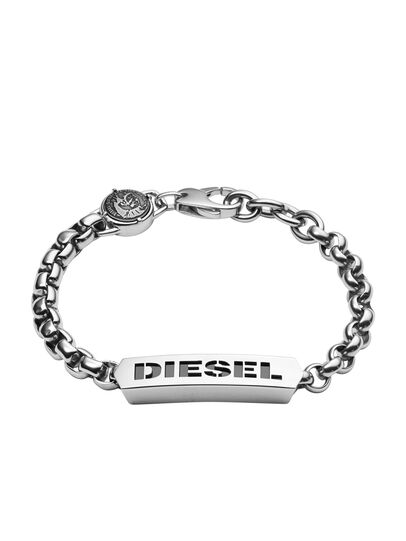 Diesel - BRACELET DX0993, Plata - Pulseras - Image 1