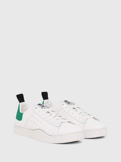 Diesel - S-CLEVER LOW, Blanco/Verde - Sneakers - Image 2