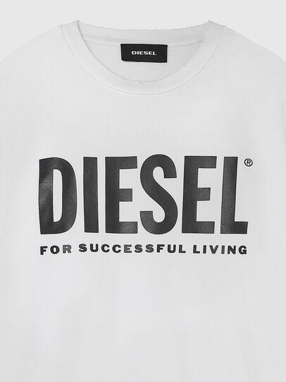 Diesel - S-GIR-DIVISION-LOGO, Blanco - Sudaderas - Image 3