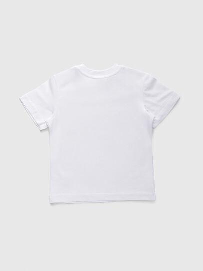 Diesel - TJUSTDIVISIONB, Blanco - Camisetas y Tops - Image 2