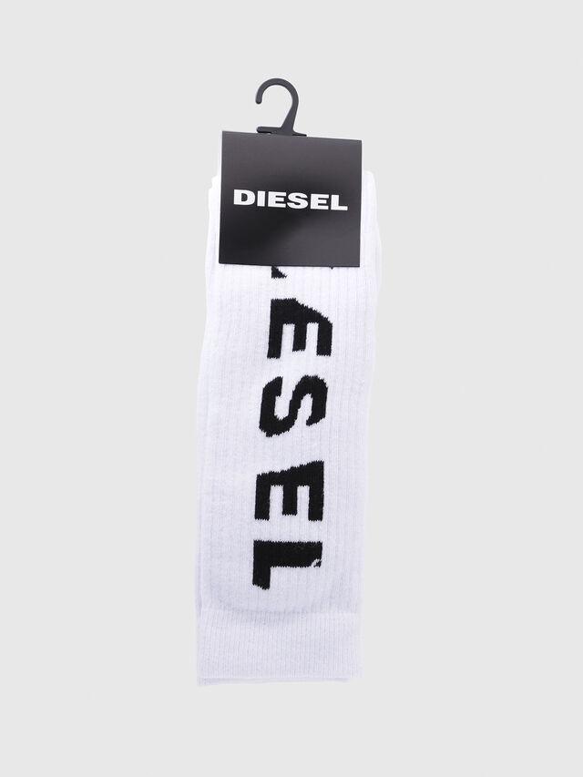 Diesel - SKM-LONG, Blanco - Calcetines - Image 2