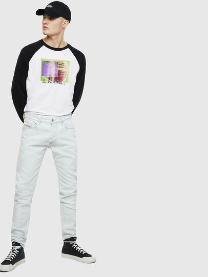 Diesel - T-RODDI, Blanco/Negro - Camisetas - Image 5