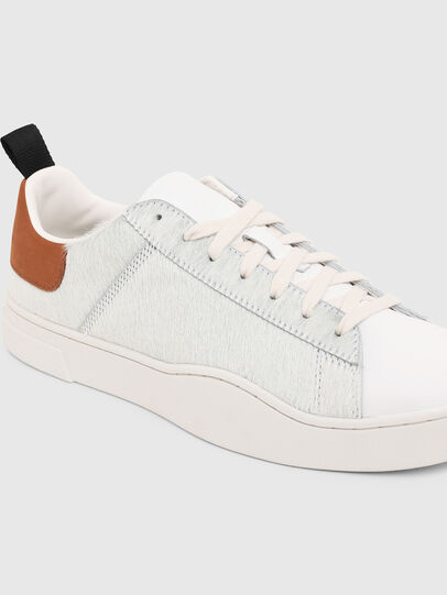 Diesel - S-CLEVER LOW LACE, Blanco/Marrón - Sneakers - Image 5