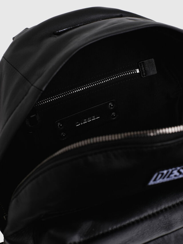 Diesel - LE-ZIPPER BACKPACK, Negro - Mochilas - Image 4