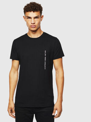 T-RUBIN-POCKET-J1, Negro - Camisetas