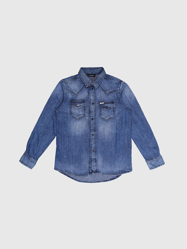 Diesel - CITROS, Blue Jeans - Camisas - Image 1