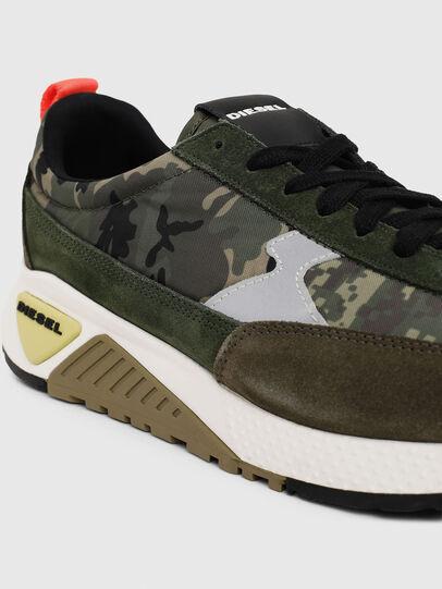 Diesel - S-KB LOW LACE II, Verde Camuflaje - Sneakers - Image 4
