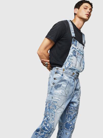 Diesel - D-HARU-SY, Blue Jeans - Monos - Image 5