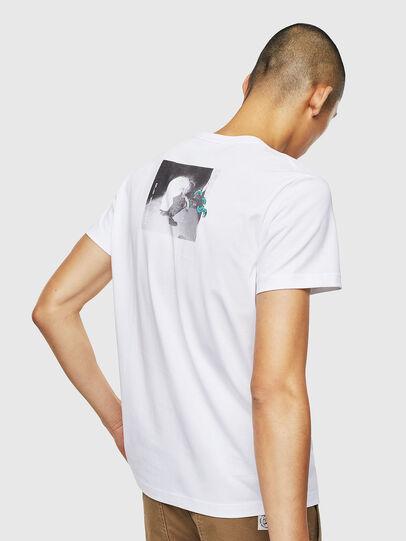 Diesel - T-DIEGO-J20, Blanco - Camisetas - Image 3
