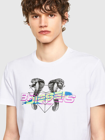 Diesel - T-DIEGOS-E35, Blanco - Camisetas - Image 3