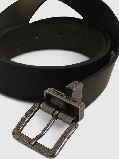 Diesel - B-DOUCKLE, Verde Oscuro - Cinturones - Image 4