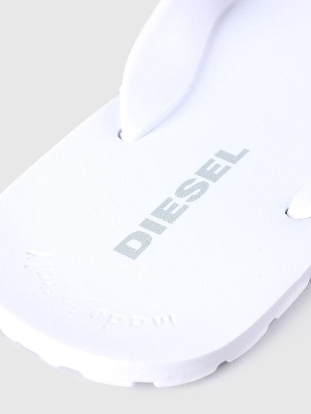 Diesel - SPLISH, Blanco - Chanclas - Image 3