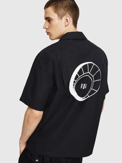 Diesel - S-KULKOV, Negro - Camisas - Image 2