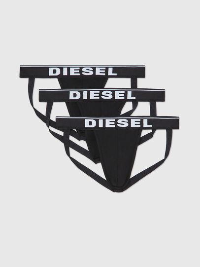 Diesel - UMBR-JOCKYTHREEPACK, Negro - Jockstraps - Image 1