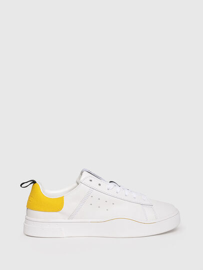 Diesel - S-CLEVER LOW W, Blanco/Amarillo - Sneakers - Image 1