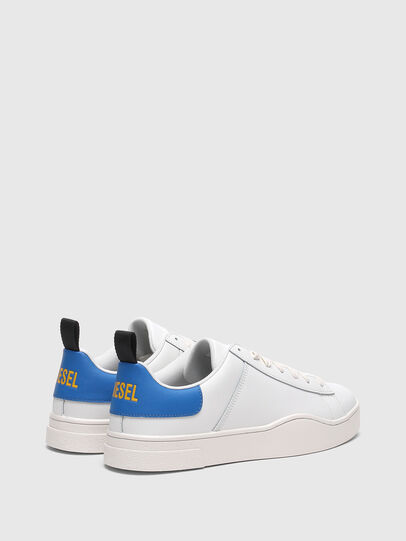 Diesel - S-CLEVER LOW LACE, Blanco/Azul marino - Sneakers - Image 3