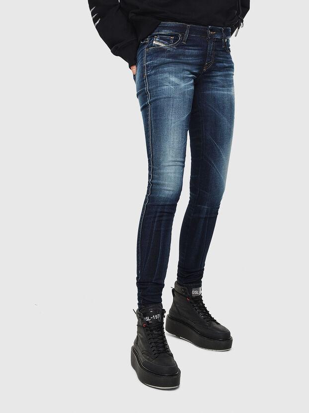Gracey JoggJeans 069JX, Azul Oscuro - Vaqueros