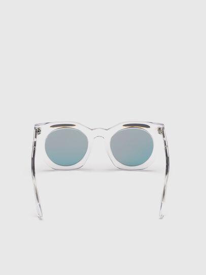 Diesel - DL0283, Blanco - Gafas de sol - Image 4