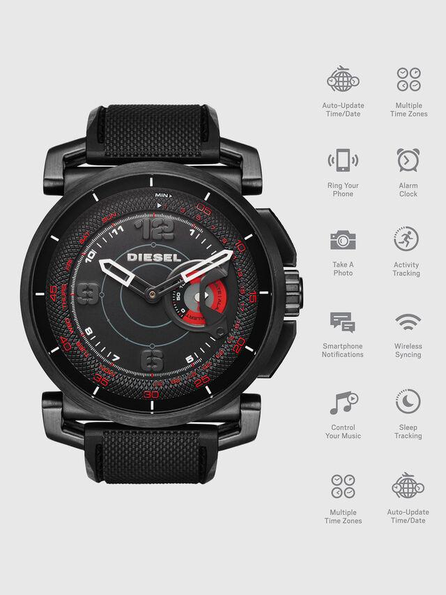 Diesel - DT1006, Negro - Smartwatches - Image 1