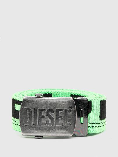 Diesel - BOXXY, Verde Fluo - Cinturones - Image 1