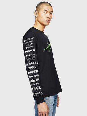 T-JUST-LS-B2, Negro - Camisetas