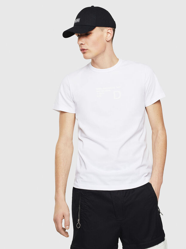 T-DIEGO-S5, Blanco - Camisetas