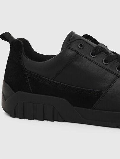 Diesel - S-RUA LOW, Negro - Sneakers - Image 4