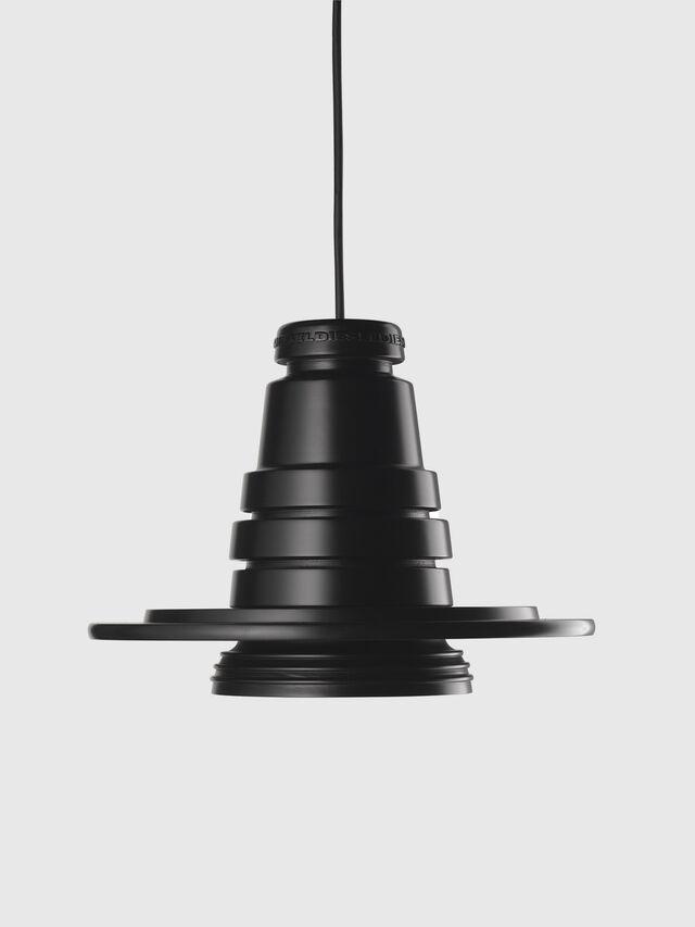 Living TOOL GRANDE SOSP, Negro - Lámparas de Suspensión - Image 1