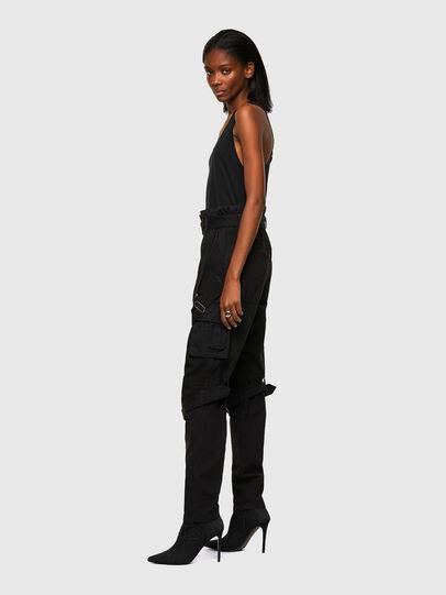 Diesel - P-FEDRA-A, Negro - Pantalones - Image 3