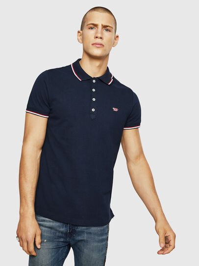 Diesel - T-RANDY-NEW, Azul Oscuro - Polos - Image 1