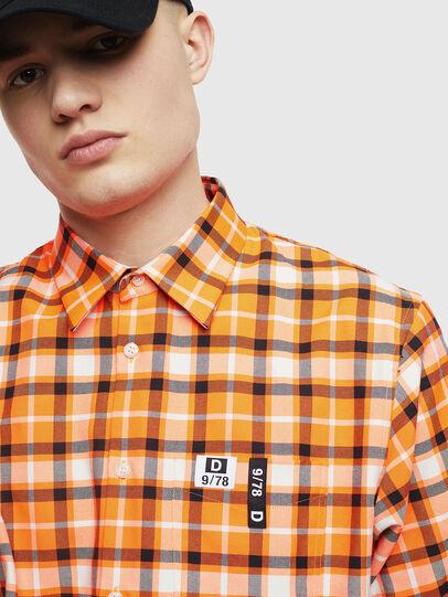 Diesel - S-ATWOOD-A, Naranja - Camisas - Image 3