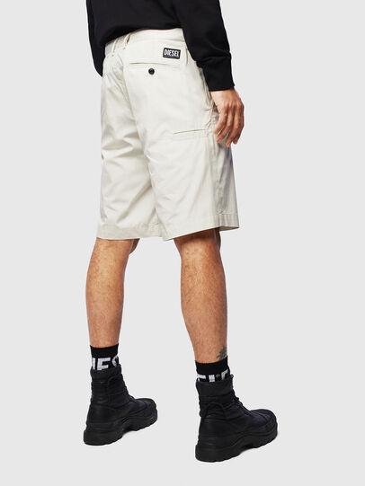 Diesel - P-MATTHEW, Blanco - Shorts - Image 2