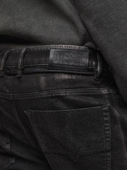 Diesel - D-Luhic JoggJeans 0092W, Negro/Gris oscuro - Vaqueros - Image 5