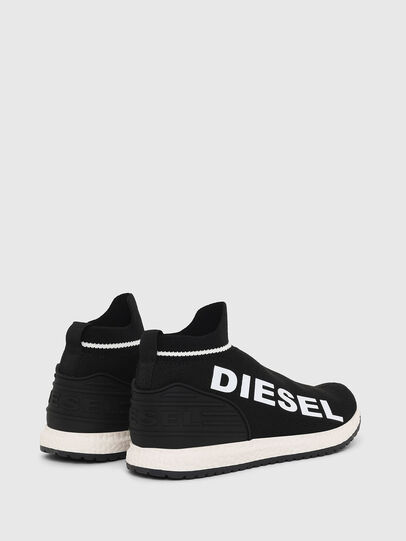 Diesel - SLIP ON 03 LOW SOCK, Negro - Calzado - Image 2