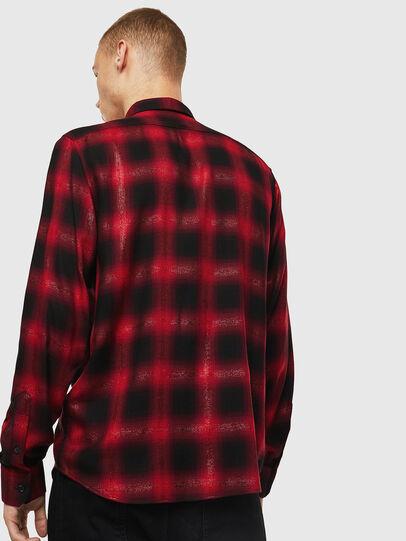 Diesel - S-MARLENE-C, Rojo/Negro - Camisas - Image 2