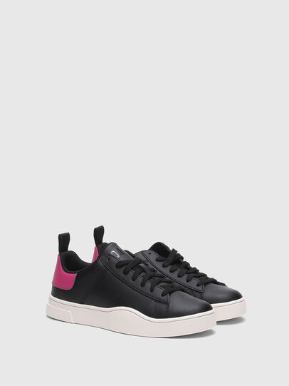 Diesel - S-CLEVER LOW LACE W, Negro/Rosa - Sneakers - Image 2