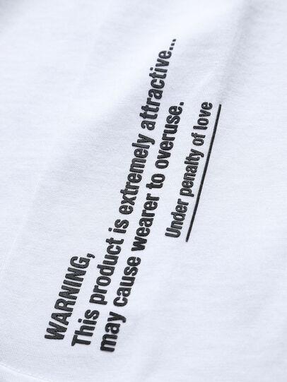 Diesel - THOVERY, Blanco - Camisetas y Tops - Image 3