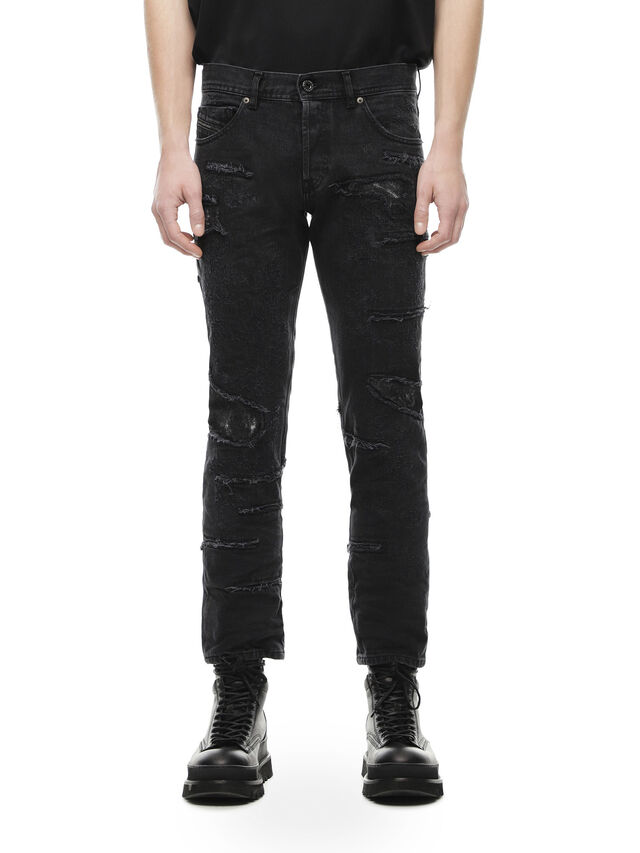Diesel - TYPE-2813E, Black Jeans - Vaqueros - Image 1