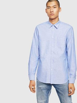 S-MOI-R-B1, Celeste - Camisas