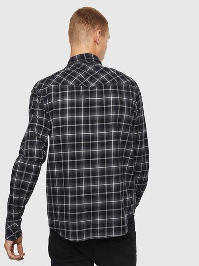 Diesel - S-EAST-LONG-N, Gris oscuro - Camisas - Image 2