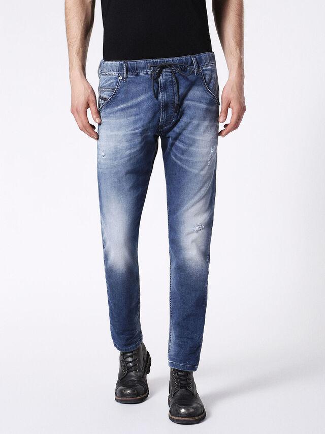 Diesel - KROOLEY JOGGJEANS 0683R, Blue Jeans - Vaqueros - Image 2