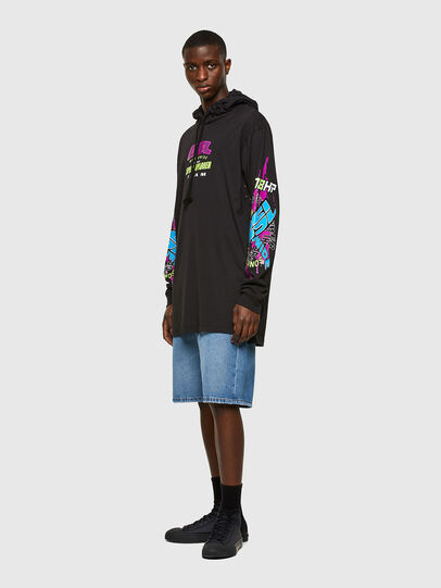Diesel - T-PROD, Negro - Camisetas - Image 4