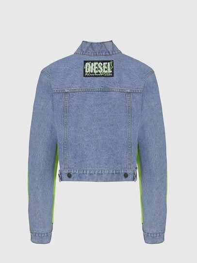 Diesel - G-DANIEL, Azul marino/Verde - Chaquetas - Image 2