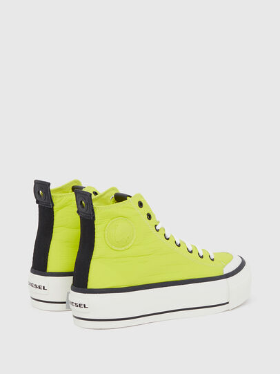 Diesel - S-ASTICO MC WEDGE, Amarillo - Sneakers - Image 3